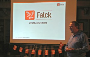 Speaker from Falck for Danish American Cultural Retreat