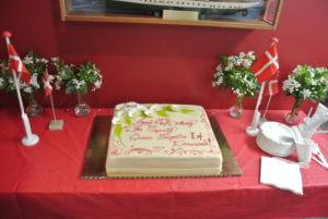 Queen Margrethe of Denmark Birthday Celebration in Seattle
