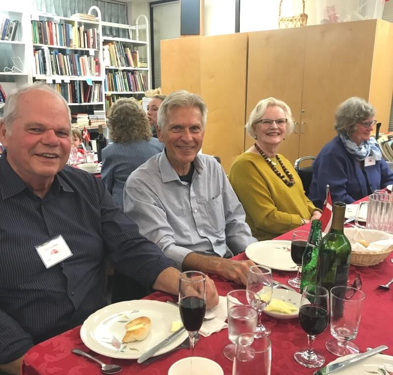 Guests at the Seattle Danish Center Dinner