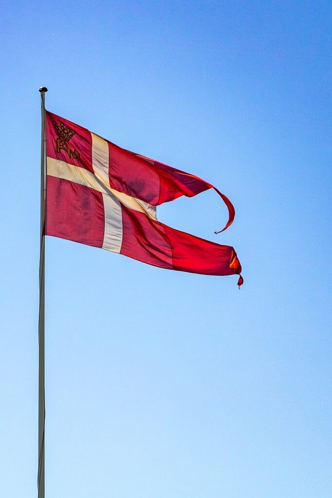 Dannebrog Denmark Danish flag