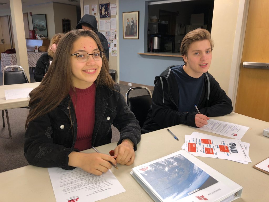 Danish language students